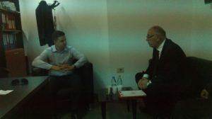 Incontro con il Direttore Generale del Turismo Collaku Ardit